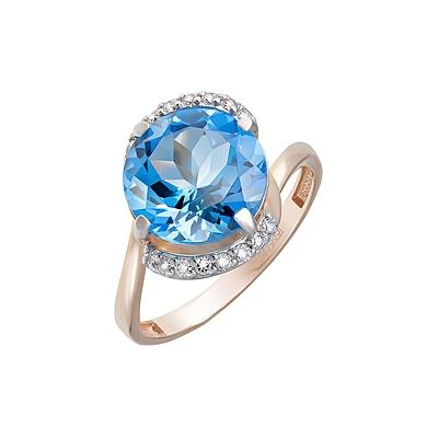 Золотое кольцо Ювелирное изделие 124102