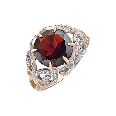 Золотое кольцо Ювелирное изделие 124108 opadiris карат 80 с зеркалом золото