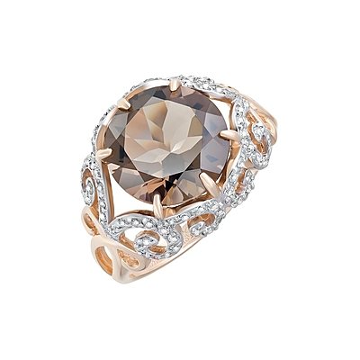 Золотое кольцо Ювелирное изделие 124135