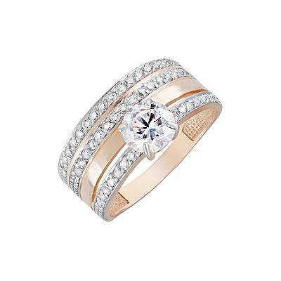 Золотое кольцо Ювелирное изделие 124376
