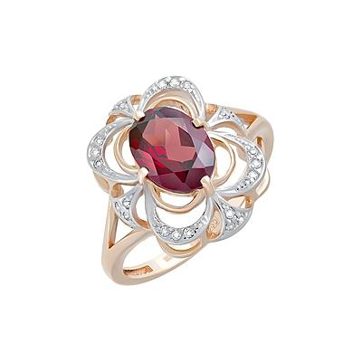 Золотое кольцо Ювелирное изделие 124605