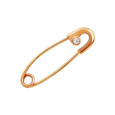 Золотая брошь Ювелирное изделие 126094 золотая цепь ювелирное изделие 28537