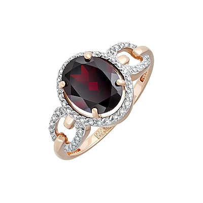 Золотое кольцо Ювелирное изделие 126553
