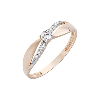 Золотое кольцо Ювелирное изделие 126665