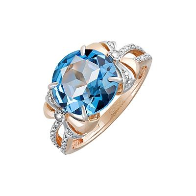 Золотое кольцо Ювелирное изделие 126996