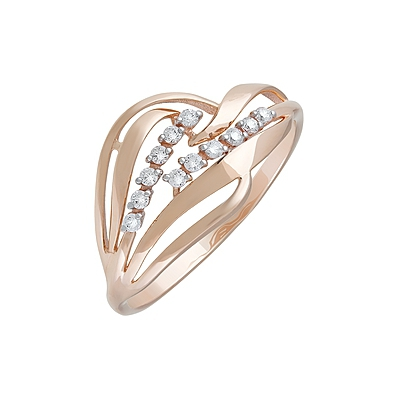 Золотое кольцо Ювелирное изделие 127394