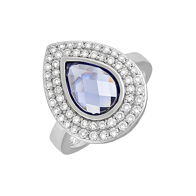 Серебряное кольцо Ювелирное изделие 127689