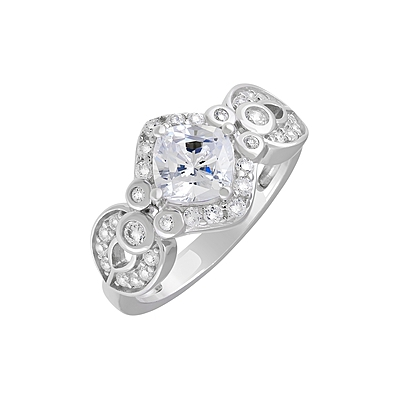 Серебряное кольцо Ювелирное изделие 127700