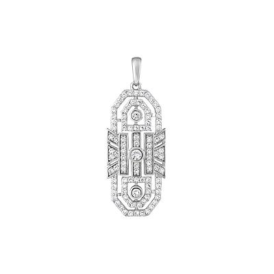 Серебряный подвес Ювелирное изделие 127731 серебряный подвес ювелирное изделие 127731