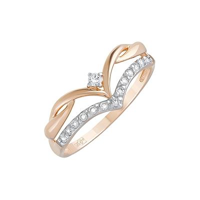 Золотое кольцо Ювелирное изделие 127822