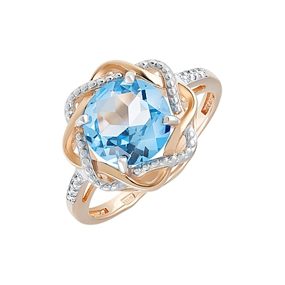 Золотое кольцо Ювелирное изделие 128686