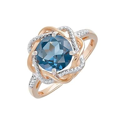 Золотое кольцо Ювелирное изделие 128704
