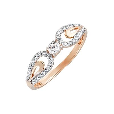 Золотое кольцо Ювелирное изделие 129817
