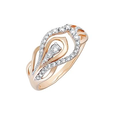 Золотое кольцо Ювелирное изделие 129828