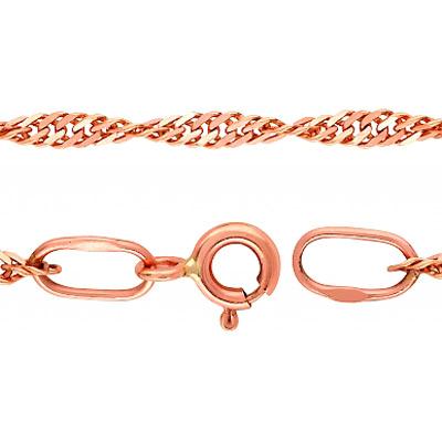 Золотая цепь Ювелирное изделие 26030 золотая цепь ювелирное изделие 66692