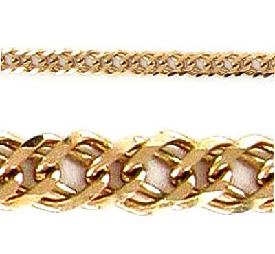 Золотая цепь Ювелирное изделие 26036 женская цепь красцветмет золотая цепь ndнц 12 084 d 0 40 40