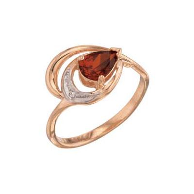 Золотое кольцо Ювелирное изделие 27487 чехол для samsung galaxy s3 printio рыжая сова индеец