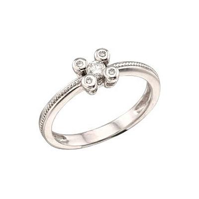 Золотое кольцо Ювелирное изделие 29112 кольцо алмаз холдинг женское золотое кольцо с куб циркониями alm1200203515л 18 5