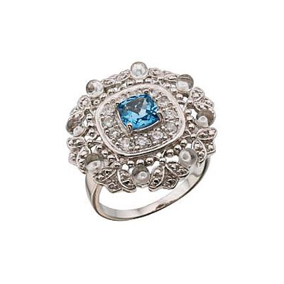 Серебряное кольцо Ювелирное изделие 30897 ювелирное изделие mkj5389710