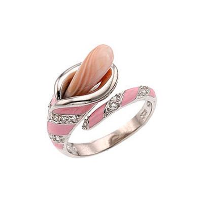 Серебряное кольцо Ювелирное изделие 33706 серебряное кольцо ювелирное изделие 75161