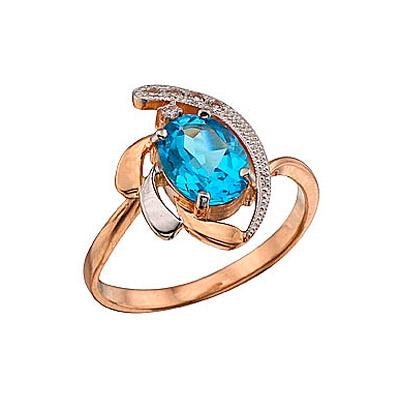 Золотое кольцо Ювелирное изделие 36251