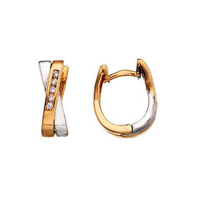 Золотые серьги Ювелирное изделие 3713