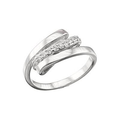 Серебряное кольцо Ювелирное изделие 38492 ювелирное изделие 124268