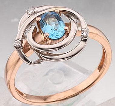 Золотое кольцо Ювелирное изделие 40630