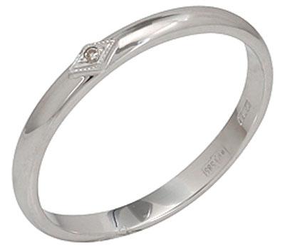 Золотое кольцо Ювелирное изделие 40699 обручальное кольцо korloff золотое обручальное кольцо k9hl07pg 17 5