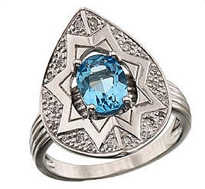 Золотое кольцо Ювелирное изделие 41342
