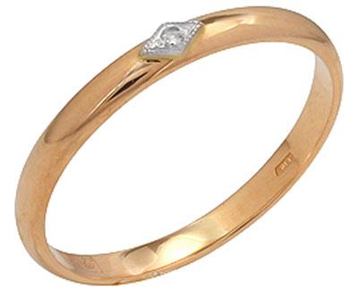 Золотое кольцо Ювелирное изделие 4255