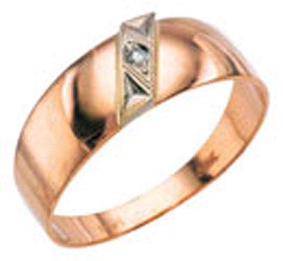 Золотое кольцо Ювелирное изделие 4455