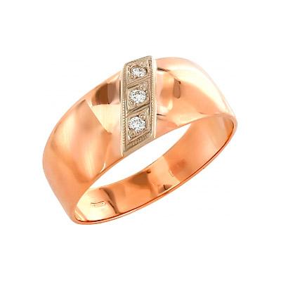 Золотое кольцо Ювелирное изделие 4456 4456 ao4456 sop 8