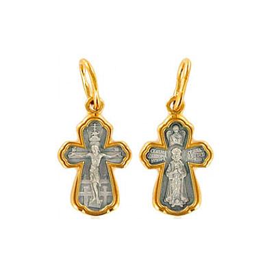 Серебряный крест Ювелирное изделие 60079 серебряный крест ювелирное изделие 33432
