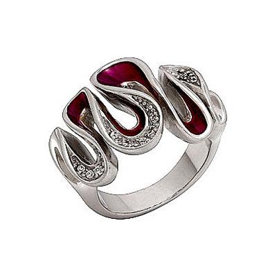 Серебряное кольцо Ювелирное изделие 62647