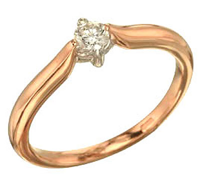 Золотое кольцо Ювелирное изделие 63654