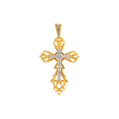 Золотой крест Ювелирное изделие 65021 ювелирное изделие 01p325665 page 3