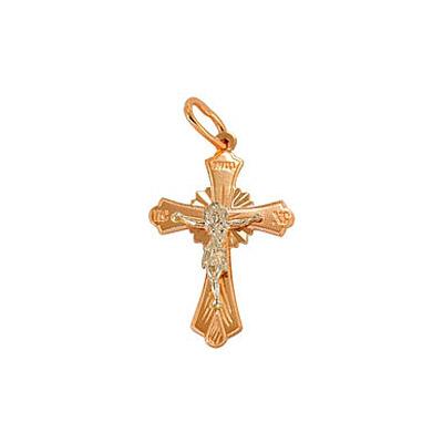Золотой крест Ювелирное изделие 66676 ювелирное изделие 01p314958