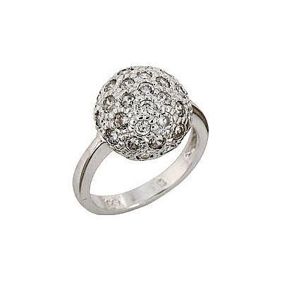 Серебряное кольцо Ювелирное изделие 68443 серебряное кольцо ювелирное изделие 75161