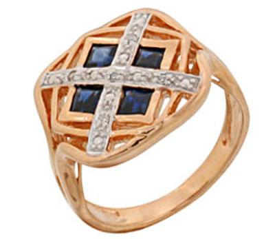 Золотое кольцо Ювелирное изделие 68981