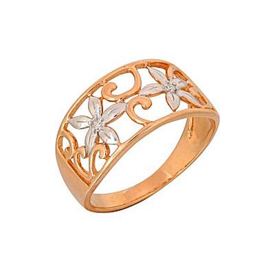 Золотое кольцо Ювелирное изделие 69011
