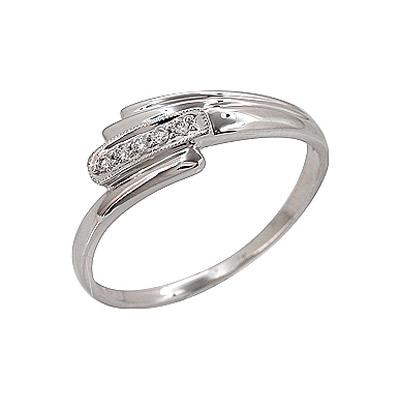 Золотое кольцо Ювелирное изделие 69777 кольцо алмаз холдинг женское золотое кольцо с куб циркониями alm1200203515л 18 5