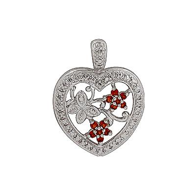 Серебряный подвес Ювелирное изделие 70036 серебряный подвес ювелирное изделие 127709