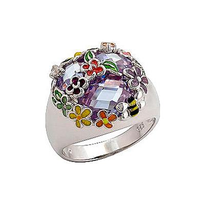 Серебряное кольцо Ювелирное изделие 70788