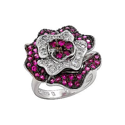Серебряное кольцо Ювелирное изделие 70797 ювелирное изделие mkj5389710