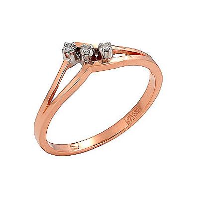 Золотое кольцо Ювелирное изделие 73101