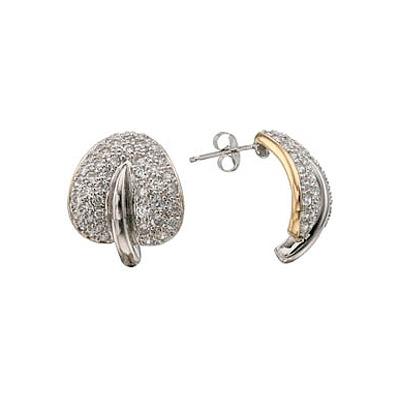 Серебряные серьги Ювелирное изделие 73748 ювелирное изделие mkj5389710