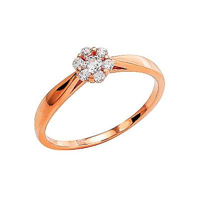 Золотое кольцо Ювелирное изделие 74150