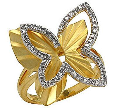 Серебряное кольцо Ювелирное изделие 75131 ювелирное изделие 128627