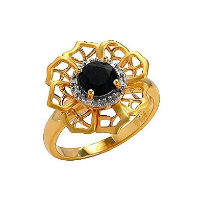 Серебряное кольцо Ювелирное изделие 75133